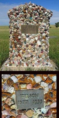 NEVILLE, WILSON - Haakon County, South Dakota | WILSON NEVILLE - South Dakota Gravestone Photos
