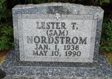 """NORDSTROM, LESTER """"SAM"""" - Haakon County, South Dakota 