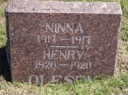 OLESEN, NINNA - Haakon County, South Dakota | NINNA OLESEN - South Dakota Gravestone Photos