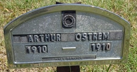 OSTREM, ARTHUR - Haakon County, South Dakota | ARTHUR OSTREM - South Dakota Gravestone Photos