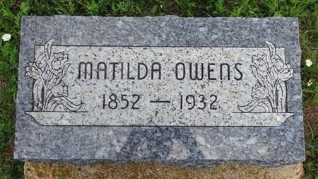 OWENS, MATILDA - Haakon County, South Dakota | MATILDA OWENS - South Dakota Gravestone Photos