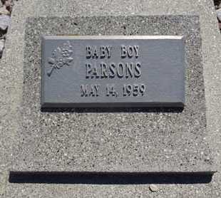 PARSONS, BABY BOY - Haakon County, South Dakota | BABY BOY PARSONS - South Dakota Gravestone Photos