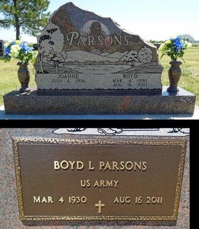 PARSONS, BOYD - Haakon County, South Dakota   BOYD PARSONS - South Dakota Gravestone Photos