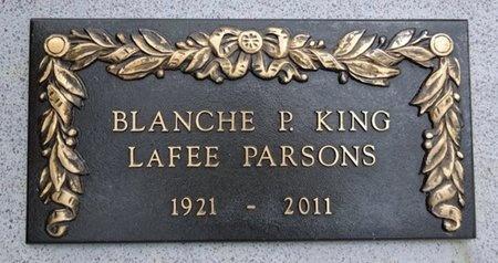 PARSONS, BLANCHE - Haakon County, South Dakota | BLANCHE PARSONS - South Dakota Gravestone Photos
