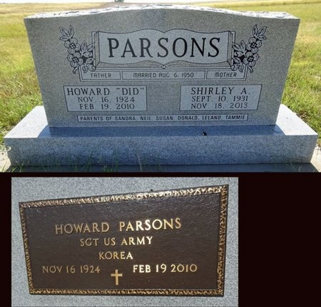 EYMER PARSONS, SHIRLEY - Haakon County, South Dakota | SHIRLEY EYMER PARSONS - South Dakota Gravestone Photos
