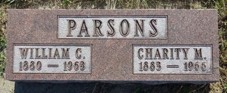 PARSONS, CHARITY - Haakon County, South Dakota | CHARITY PARSONS - South Dakota Gravestone Photos