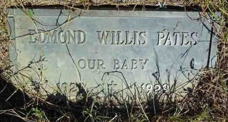 PATES, EDMOND - Haakon County, South Dakota | EDMOND PATES - South Dakota Gravestone Photos