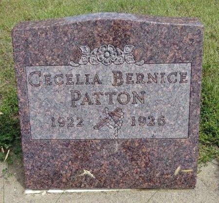 PATTON, CECELIA - Haakon County, South Dakota   CECELIA PATTON - South Dakota Gravestone Photos