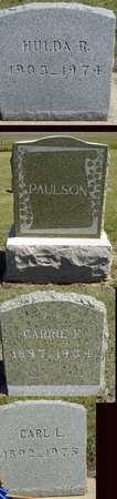 PAULSON, HULDA - Haakon County, South Dakota | HULDA PAULSON - South Dakota Gravestone Photos