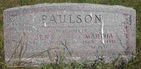 PAULSON, JENS - Haakon County, South Dakota | JENS PAULSON - South Dakota Gravestone Photos