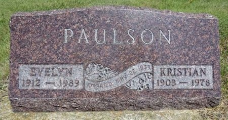 PAULSON, EVELYN - Haakon County, South Dakota | EVELYN PAULSON - South Dakota Gravestone Photos