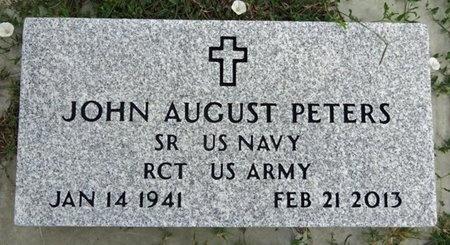 PETERS, JOHN - Haakon County, South Dakota   JOHN PETERS - South Dakota Gravestone Photos