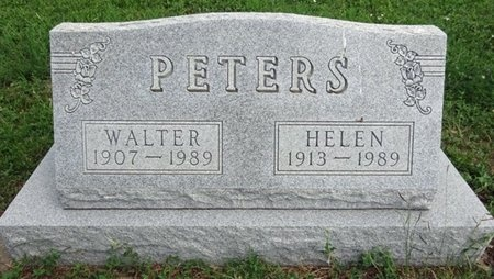 PETERS, WALTER - Haakon County, South Dakota | WALTER PETERS - South Dakota Gravestone Photos
