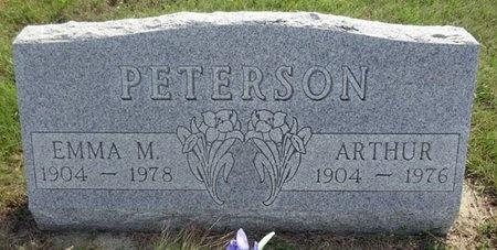 PETERSON, ARTHUR - Haakon County, South Dakota   ARTHUR PETERSON - South Dakota Gravestone Photos