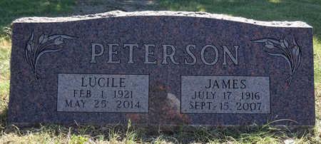 PETERSON, LUCILE - Haakon County, South Dakota | LUCILE PETERSON - South Dakota Gravestone Photos