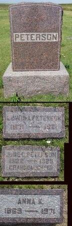 PETERSON, ANNA - Haakon County, South Dakota   ANNA PETERSON - South Dakota Gravestone Photos
