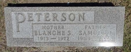 PETERSON, SAMUEL - Haakon County, South Dakota | SAMUEL PETERSON - South Dakota Gravestone Photos