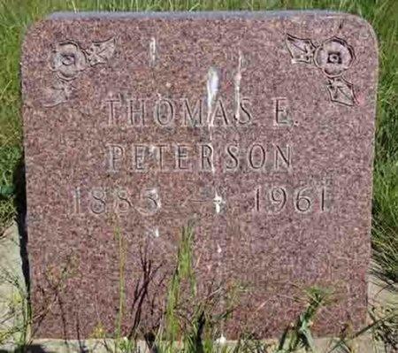 PETERSON, THOMAS - Haakon County, South Dakota | THOMAS PETERSON - South Dakota Gravestone Photos