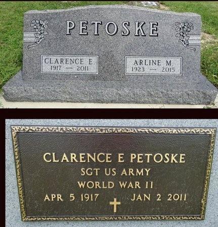PETOSKE, ARLINE - Haakon County, South Dakota   ARLINE PETOSKE - South Dakota Gravestone Photos