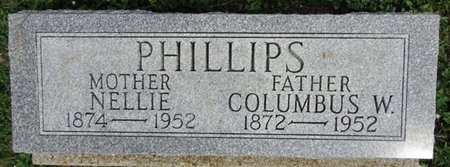 PHILLIPS, NELLIE - Haakon County, South Dakota | NELLIE PHILLIPS - South Dakota Gravestone Photos
