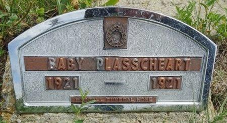 PLASSCHEART, BABY - Haakon County, South Dakota | BABY PLASSCHEART - South Dakota Gravestone Photos