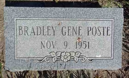 POSTE, BRADLEY - Haakon County, South Dakota   BRADLEY POSTE - South Dakota Gravestone Photos