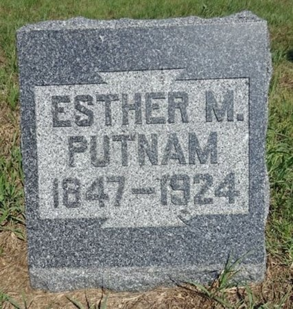 PUTNAM, ESTHER - Haakon County, South Dakota | ESTHER PUTNAM - South Dakota Gravestone Photos