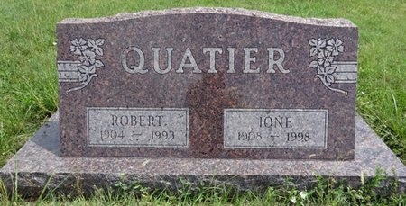 QUATIER, ROBERT - Haakon County, South Dakota | ROBERT QUATIER - South Dakota Gravestone Photos