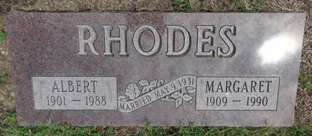 RHODES, ALBERT - Haakon County, South Dakota | ALBERT RHODES - South Dakota Gravestone Photos