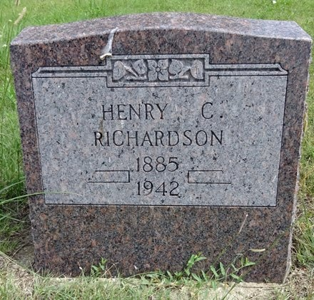 RICHARDSON, HENRY - Haakon County, South Dakota   HENRY RICHARDSON - South Dakota Gravestone Photos