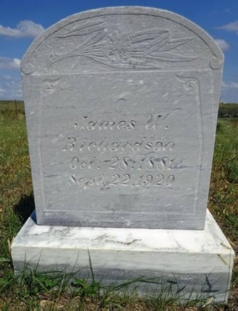 RICHARDSON, JAMES - Haakon County, South Dakota | JAMES RICHARDSON - South Dakota Gravestone Photos