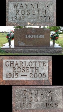 ROSETH, PAUL - Haakon County, South Dakota | PAUL ROSETH - South Dakota Gravestone Photos