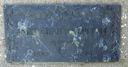 RUSSELL, JOHN - Haakon County, South Dakota   JOHN RUSSELL - South Dakota Gravestone Photos
