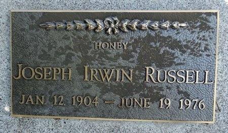 RUSSELL, JOSEPH - Haakon County, South Dakota   JOSEPH RUSSELL - South Dakota Gravestone Photos