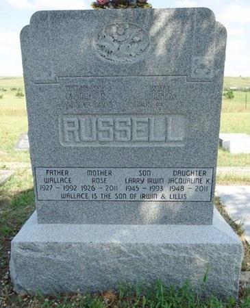 RUSSELL, LARRY - Haakon County, South Dakota | LARRY RUSSELL - South Dakota Gravestone Photos