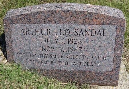 SANDAL, ARTHUR - Haakon County, South Dakota | ARTHUR SANDAL - South Dakota Gravestone Photos