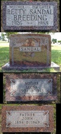 SANDAL, LEONA - Haakon County, South Dakota | LEONA SANDAL - South Dakota Gravestone Photos