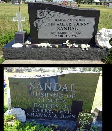 "SANDAL, JOHN ""JOHNNY"" - Haakon County, South Dakota   JOHN ""JOHNNY"" SANDAL - South Dakota Gravestone Photos"