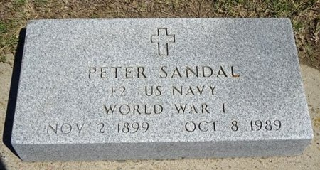 SANDAL, PETER - Haakon County, South Dakota   PETER SANDAL - South Dakota Gravestone Photos