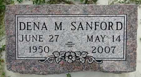 SANFORD, DENA - Haakon County, South Dakota | DENA SANFORD - South Dakota Gravestone Photos