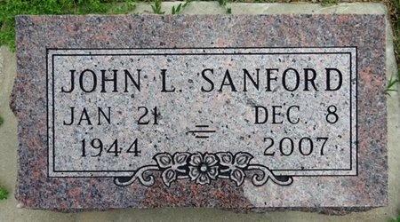 SANFORD, JOHN - Haakon County, South Dakota   JOHN SANFORD - South Dakota Gravestone Photos