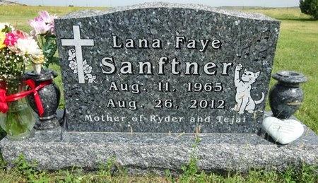 JONES SANFTNER, LANA - Haakon County, South Dakota | LANA JONES SANFTNER - South Dakota Gravestone Photos
