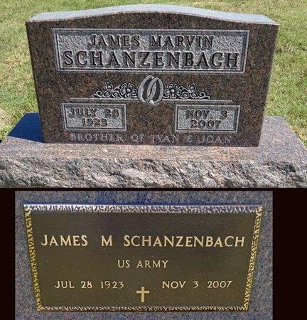 SCHANZENBACH, JAMES - Haakon County, South Dakota | JAMES SCHANZENBACH - South Dakota Gravestone Photos