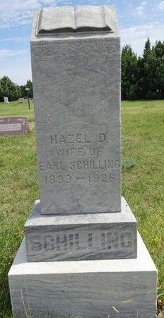 SCHILLING, HAZEL - Haakon County, South Dakota   HAZEL SCHILLING - South Dakota Gravestone Photos