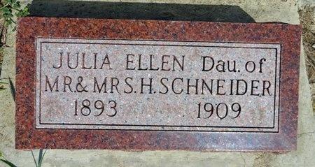SCHNEIDER, JULIA - Haakon County, South Dakota | JULIA SCHNEIDER - South Dakota Gravestone Photos