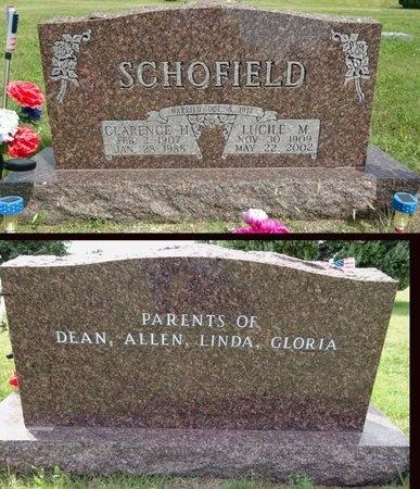 SCHOFIELD, CLARENCE - Haakon County, South Dakota | CLARENCE SCHOFIELD - South Dakota Gravestone Photos
