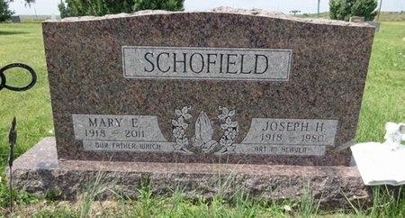 SCHOFIELD, MARY - Haakon County, South Dakota | MARY SCHOFIELD - South Dakota Gravestone Photos