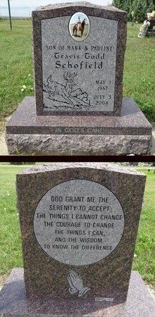 SCHOFIELD, TRAVIS - Haakon County, South Dakota | TRAVIS SCHOFIELD - South Dakota Gravestone Photos