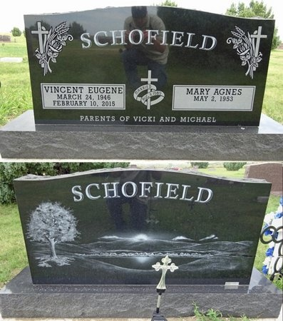 SCHOFIELD, VINCENT - Haakon County, South Dakota | VINCENT SCHOFIELD - South Dakota Gravestone Photos