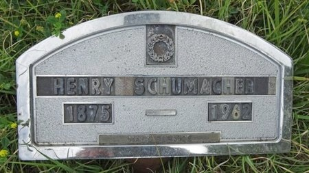 SCHUMACHER, HENRY - Haakon County, South Dakota   HENRY SCHUMACHER - South Dakota Gravestone Photos